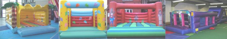 Bouncy Castle & Inflatable PIPA & RPII Testing in Cornwall